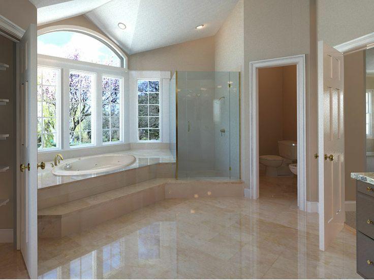 Master Bath Whirlpool Tub Walk In Shower Elliptical