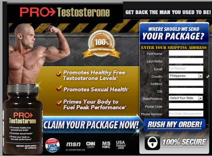 Based On the medical studies, a person will encounter increased muscle bulk and muscular tonus, youthful vigor and feeling and heightened sex drive by utilizing the Pro Testosterone nutritional supplement.