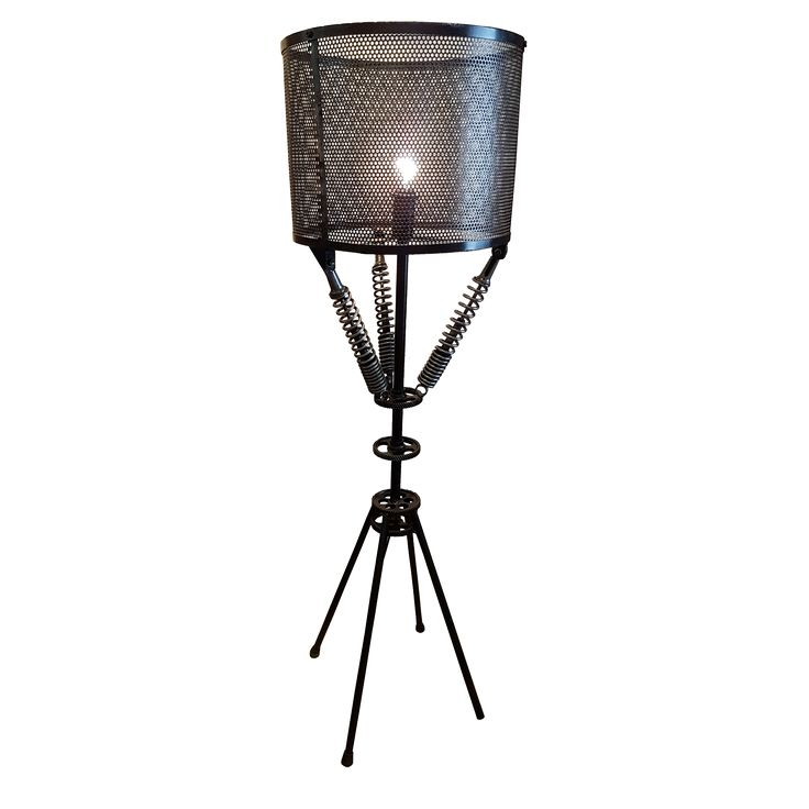 Standing Lamp C - Metal. Style up your personal spaces with this handsome Standing Lamp.