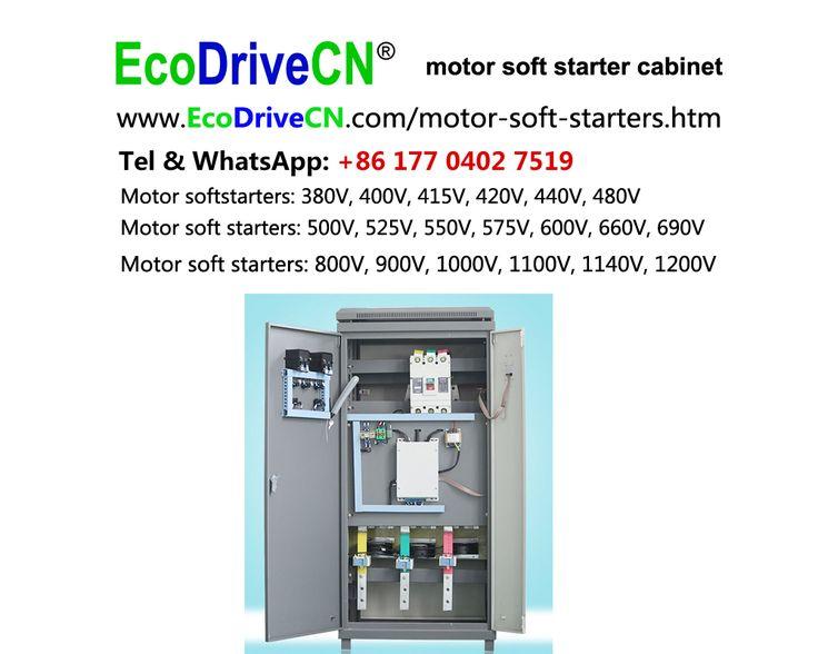 EcoDriveCN® motor soft starter control cabinet, motor softstarter control panel... http://www.EcoDriveCN.com/areas/motor-soft-starters.htm