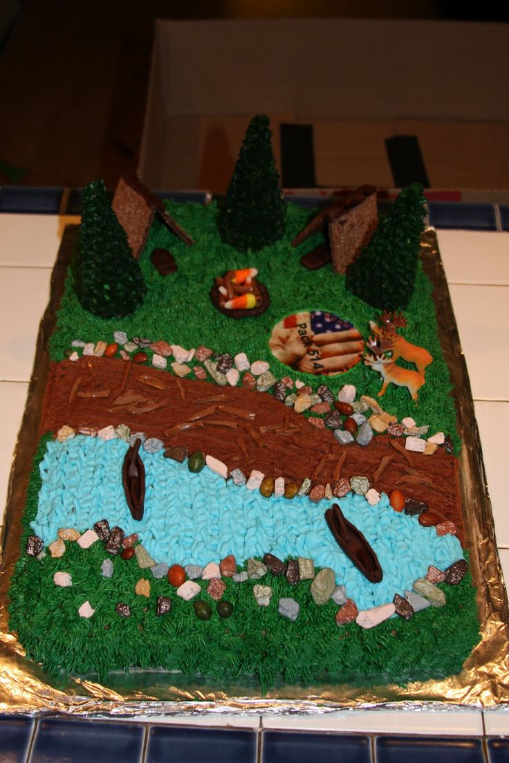 Cake Ideas For Boy Scouts : 1000+ images about Boy Scout cake ideas on Pinterest
