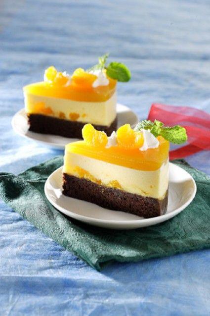 PUDING CAKE COKELAT JERUK Sajian Sedap