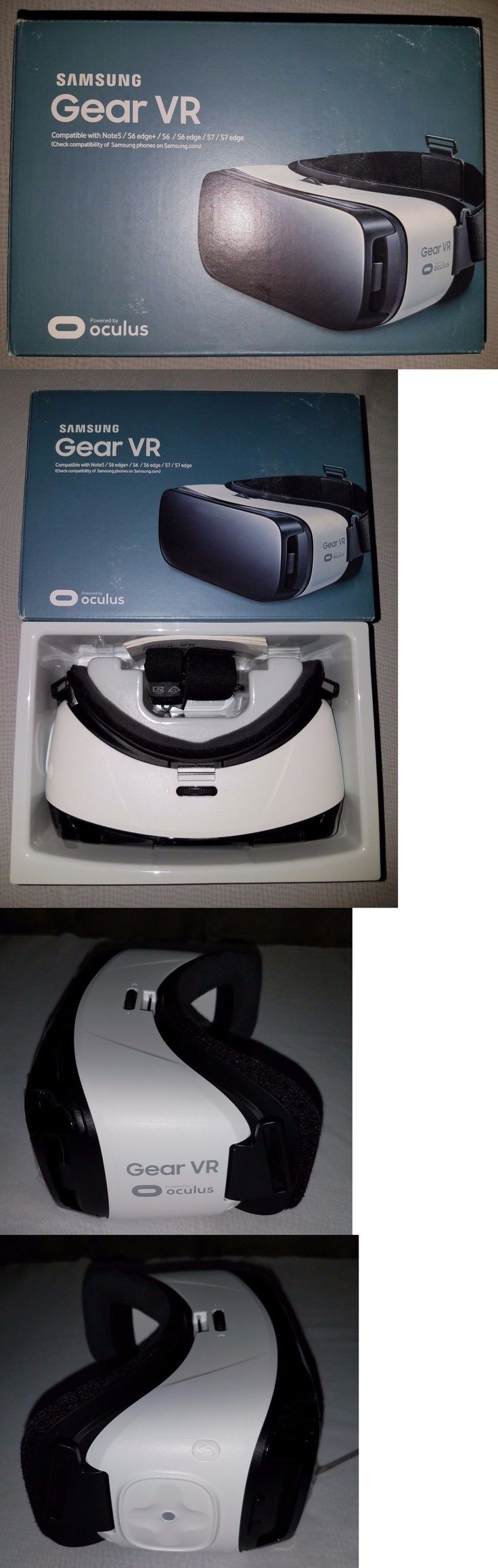 Smartphone VR Headsets: Samsung Gear Vr Oculus Virtual Reality Headset 3D Note 5 Galaxy S6, S6 Edge S7 BUY IT NOW ONLY: $42.5
