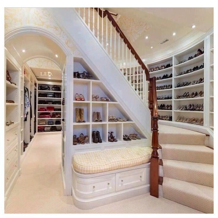 Amazing Walk In Closet Dream House Pinterest Hearths