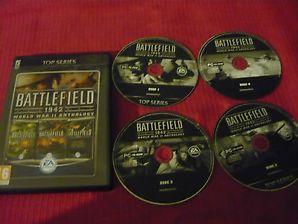 Battlefield 1942 World War II Anthology for PC 4 Disc Adult pre-owned #battlefield #battlefield1942 #callofduty #pcgames #shooters #fps #firstpersonshooter #wargames #battlefield1942