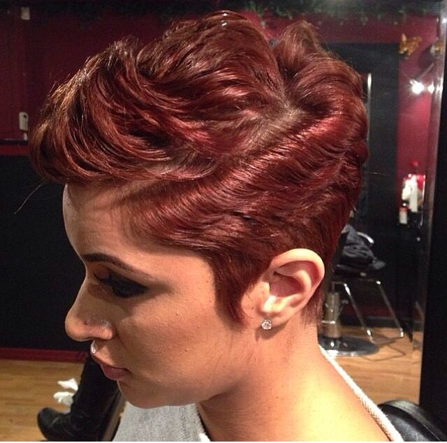 Pleasing 1000 Images About Girls With Short Hair Rock Gwshr On Hairstyle Inspiration Daily Dogsangcom