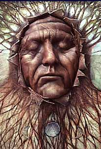 """""""Spider Grandmother"""". The Spider Woman myth is common through the beliefs of the Native Americans of the American Southwest. It is believed that all life on earth, including plant, animal, and human life, was created by Spider Woman, who had been delegated that task by the gods at the very beginning of Earth's history."""