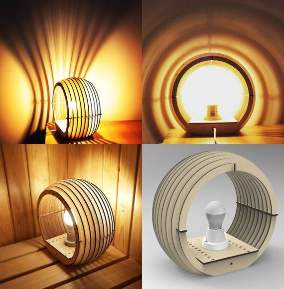 Digital Design For Cnc Lamp Project Vector Drawing In Electronic Format 3d Model 3d Puzzle Project Table For Cnc Machin Table Lamp Design Lamp Design Lamp