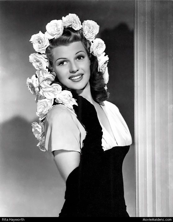 Rita Hayworth - 1940s actress ... when she was young - MovieMaidens.com