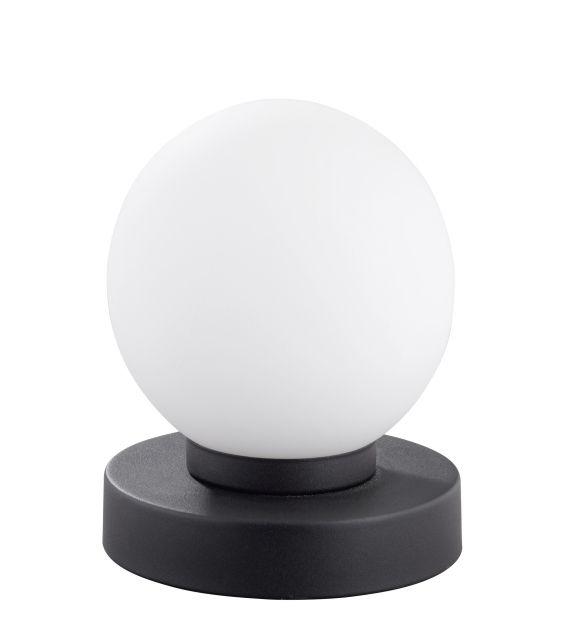 PRINZ TRIO-stolná lampa dotyková-stmievateľná-hrdza