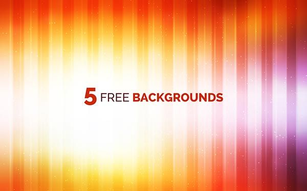 5 free backgrounds