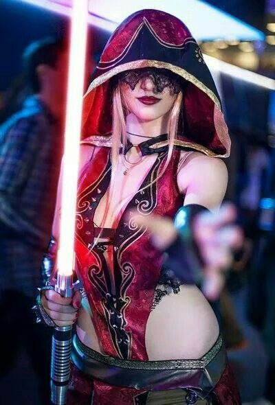 Infinitely possible star wars sexy jedi girls cosplay