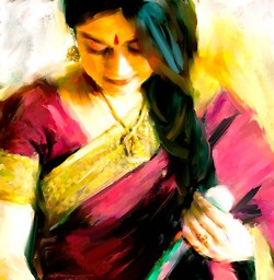 beautiful painting #india