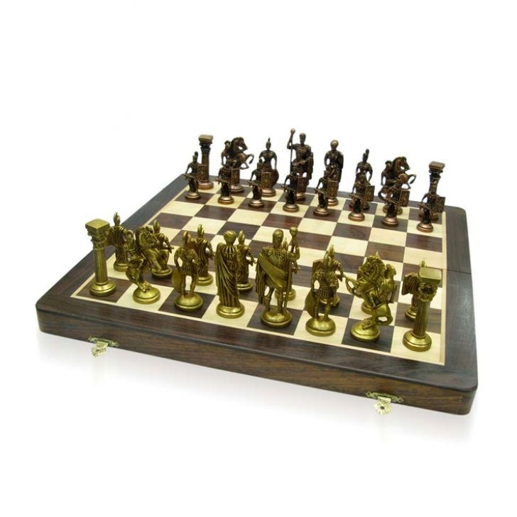 Shatranj Roman Chess Set Fabfurnish