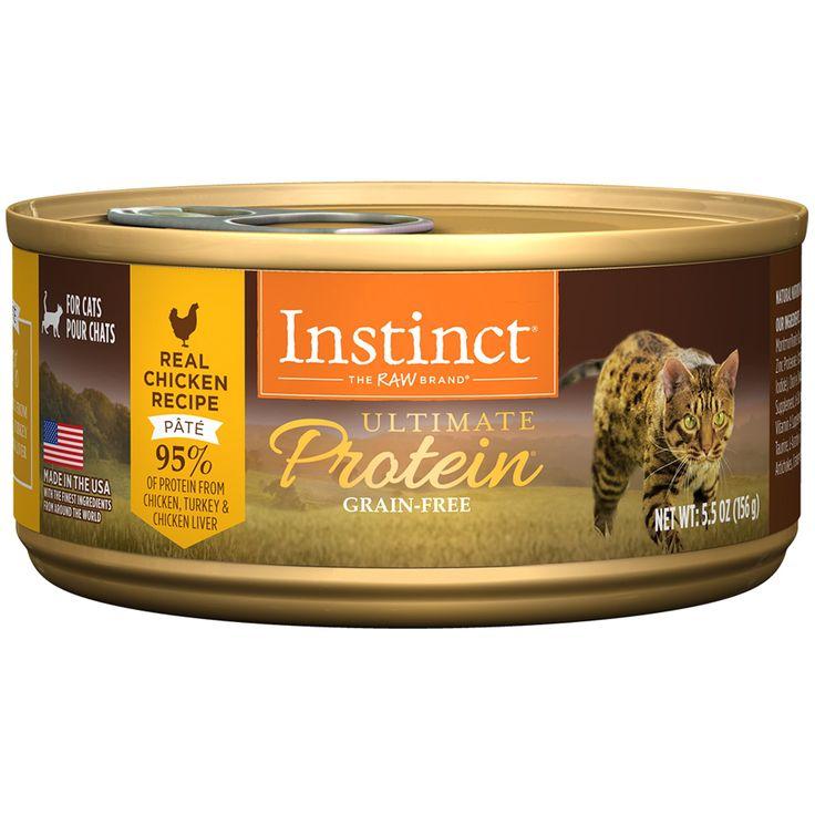 Instinct ultimate protein grainfree pate real chicken