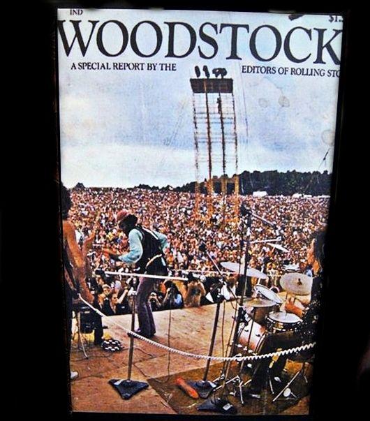 Woodstock!!! - 20x30cm MDF Material - 125K