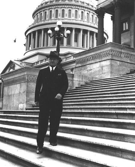 """On July 23, 1947, President Harry S. Truman stopped by the U.S. Capitol unannounced. According to the President'sappointment calendar for the day:  """"While at the Capitol, the President visited the Senate Chamber, took his old seat, was recognized by the President of the Senate and made a brief impromptu speech.""""  Addressing the senators around him, he said, """"I get homesick for this seat. I spent the best 10 years of my life in this seat."""""""