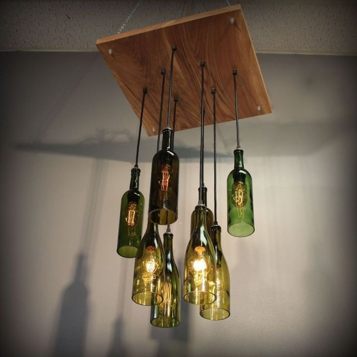 die besten 25 lampe aus flaschen ideen auf pinterest. Black Bedroom Furniture Sets. Home Design Ideas
