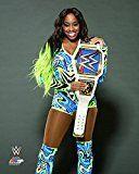 #3: Naomi Smackdown Womens Champion 2017 posed  WWE Photo 810