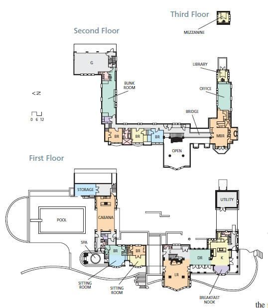 7 best images about c shape floor plan on pinterest for C shaped house plans
