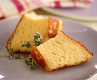 Budín de queso