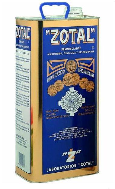 Zotal desinfectante 5L.