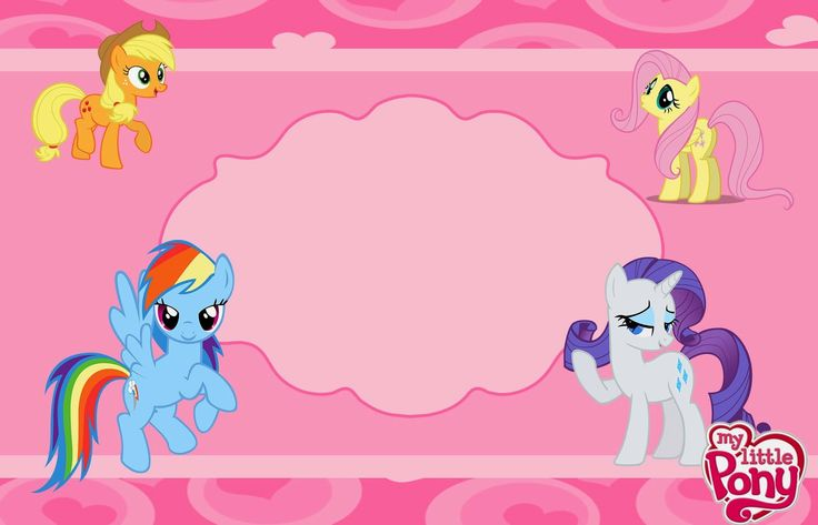 My Little Pony Party: Free Printable Invitations. | Oh My Fiesta ...