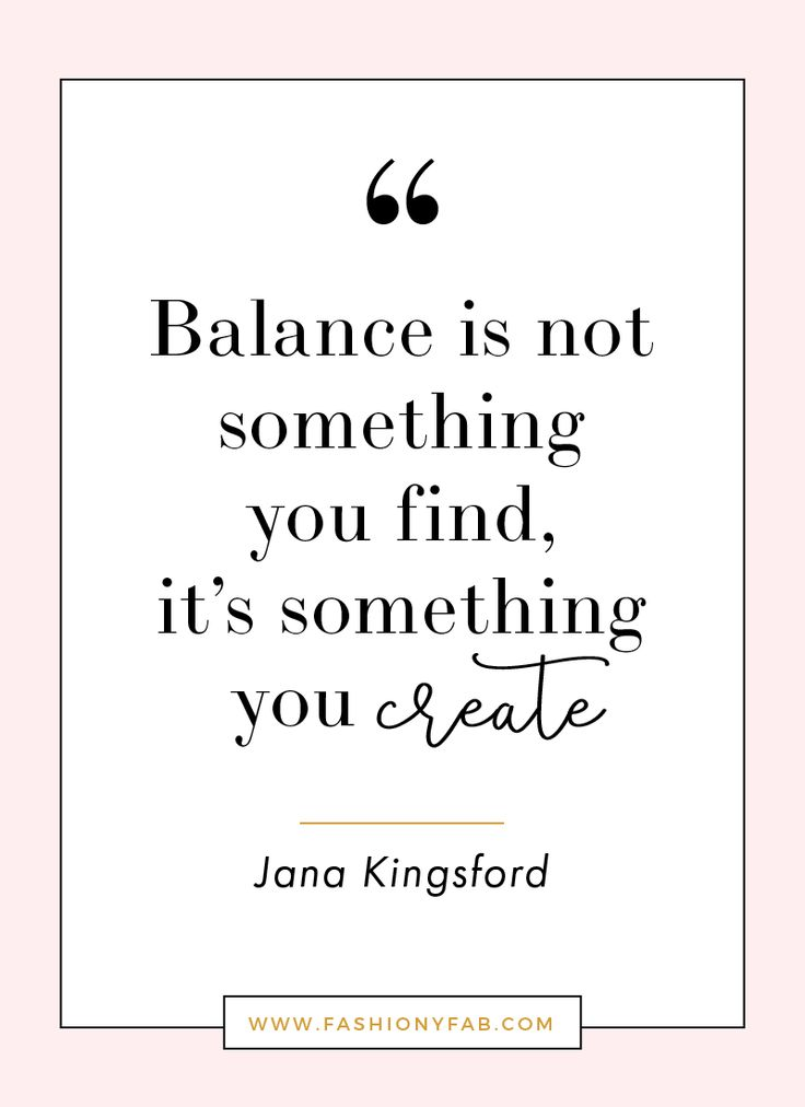 Life Balance Quotes | www.pixshark.com - Images Galleries ...