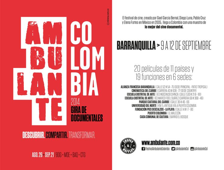 AmbulanteCol 2014 en Barranquilla