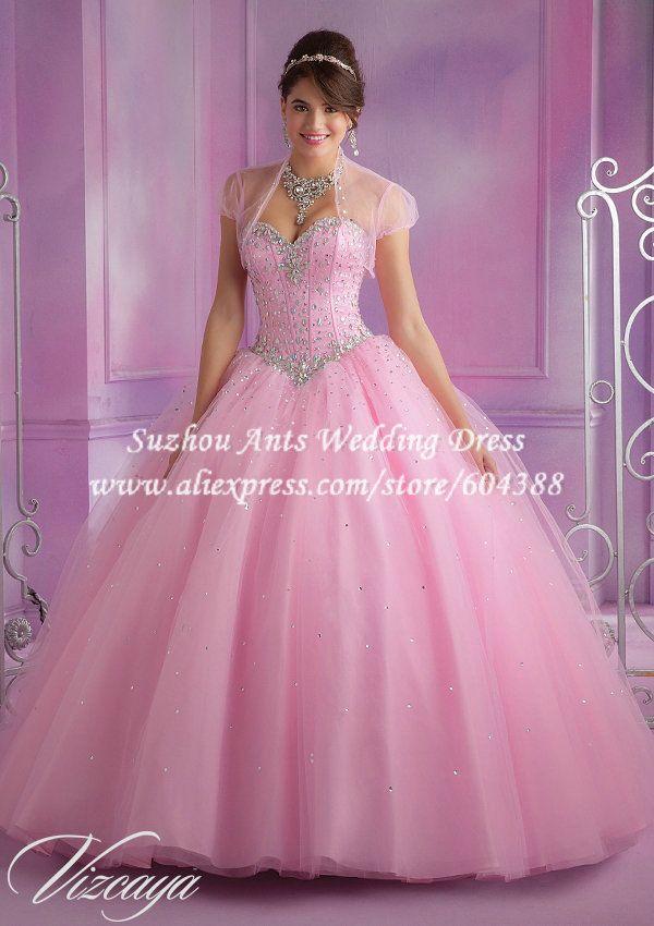 33 best Vestido de quinceañera images on Pinterest | 15 anos dresses ...