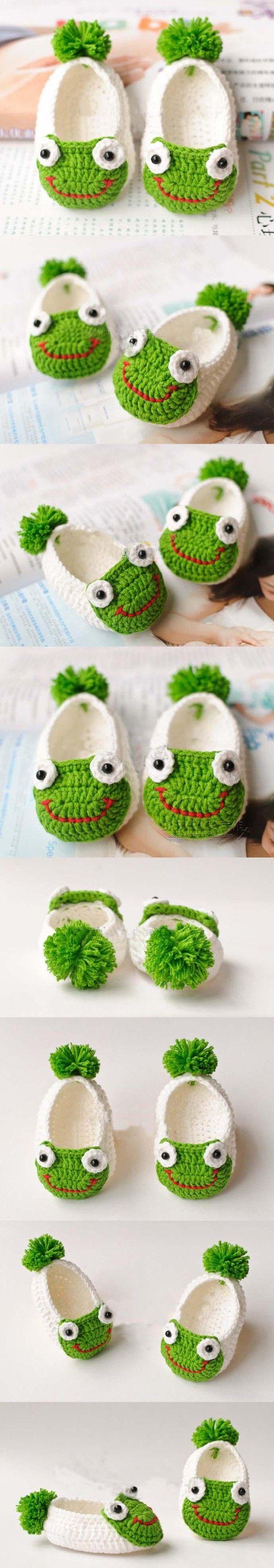 钩针baby frog sleepers