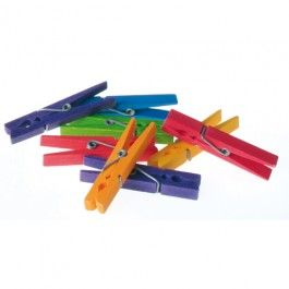Rainbow Wooden Clothespins. Made in Germany. $9.95: Rainbow Clothes, Kids Wooden, Cleaning Toys, Rainbow Wooden, Plays, House, Play Kitchens, Kids Toys, Luna Toys