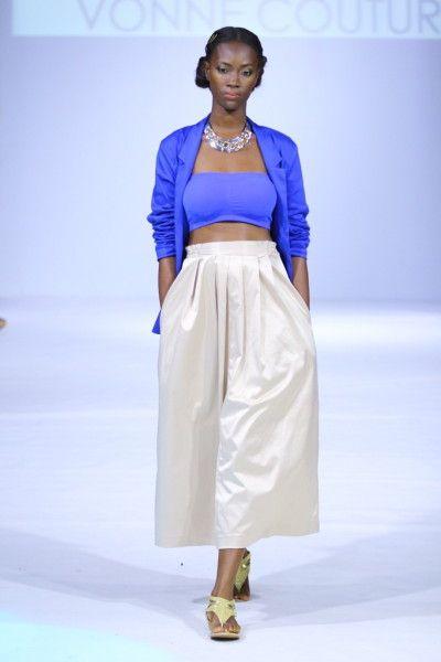 Vonne Couture for Ghana Fashion & Design Week SpringSummer 2014 -