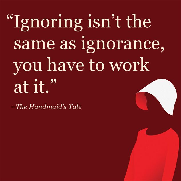 equal rights in the novel the handmaids tale by margaret atwood Hulu's adaptation of margaret atwood's dystopian novel finally  there are actual  things happening with women's reproductive rights in our own.
