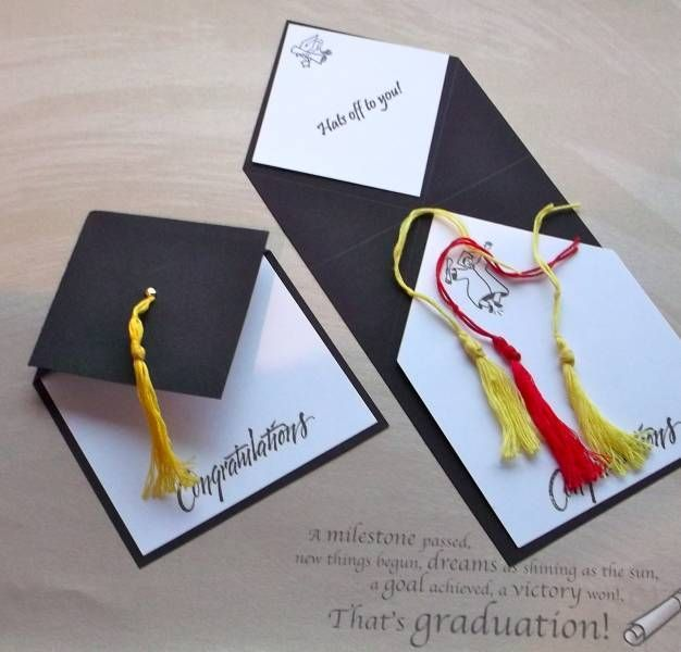 mortarboard by tessaduck - Cards and Paper Crafts at Splitcoaststampers. She calls it a fancy fold card. I call it clever. Like the grad quote too.