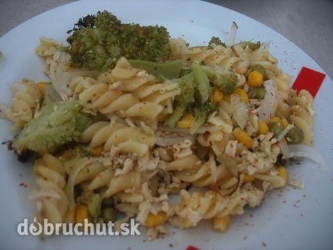 Fotorecept: Zapekané cestoviny s tofu a brokolicou