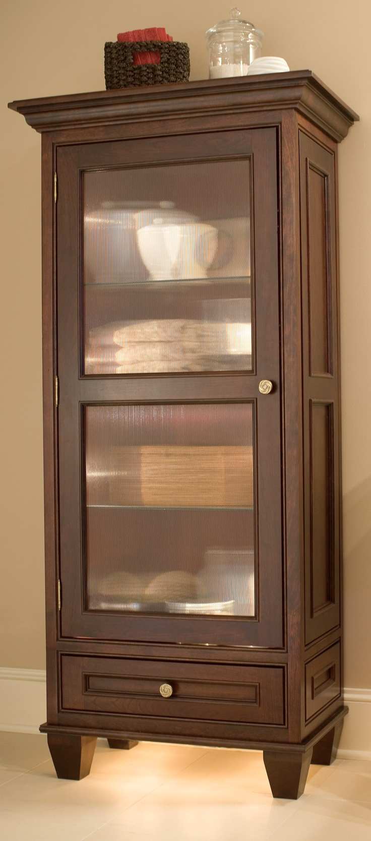Dura Supreme Bathroom Vanity - If your bathroom is lacking linen storage a dura supreme bathroom hutch for linens maybe