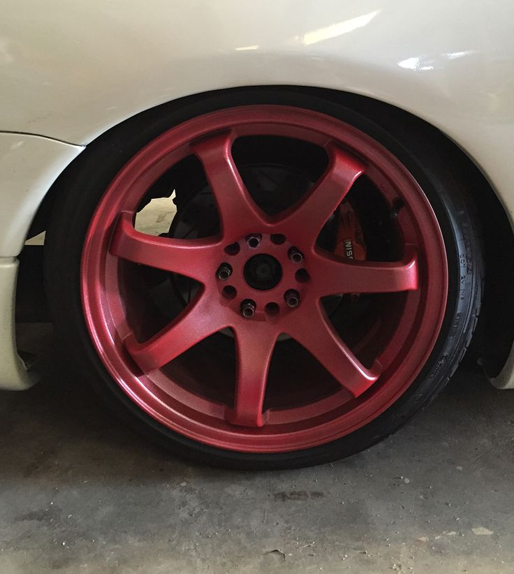 Digging the dippin' awesome combination: Red Plasti Dip ...