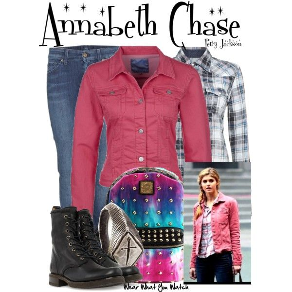 Inspired by Alexandra Daddario as Annabeth Chase in the Percy Jackson film franchise.