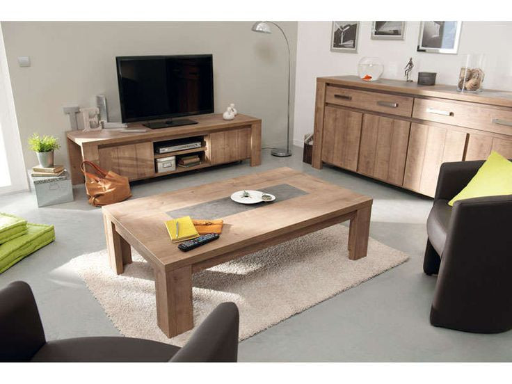 Table basse rectangulaire for Bo concept table basse