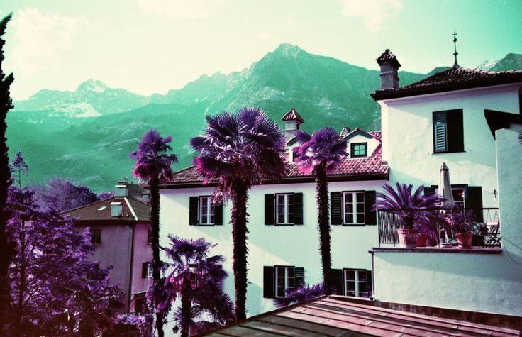 LomoChrome Purple in Südtirol, Ottmanngut Meran (c) Lomoherz.de, lomo