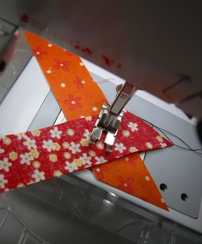 how to sew bias strips together