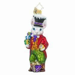 Sir Fluffy Ornament by Christopher Radko