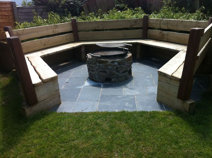 diy semi circle garden seat - Google Search