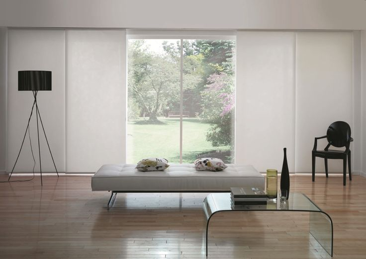 Panel blinds for bi-fold doors