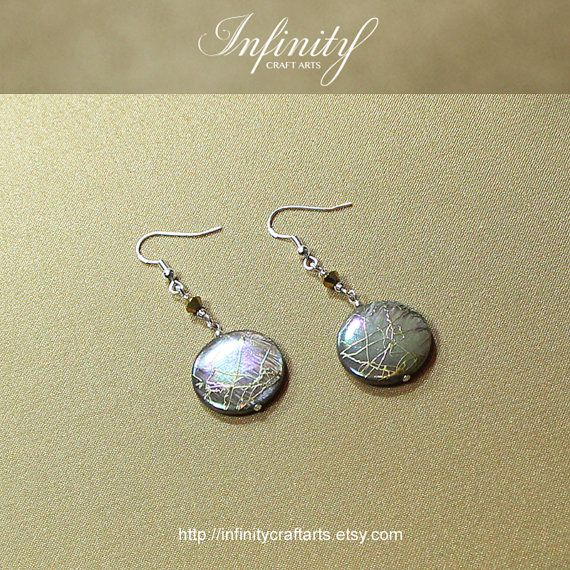 #Gemstone #MotherofPearl #Shell #earrings by #InfinityCraftArts https://www.etsy.com/ca/listing/222673640/gemstone-mother-of-pearl-shell-earrings?ref=shop_home_active_15