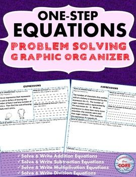 ... two-step equations on Pinterest | Solving equations, Equation and Two