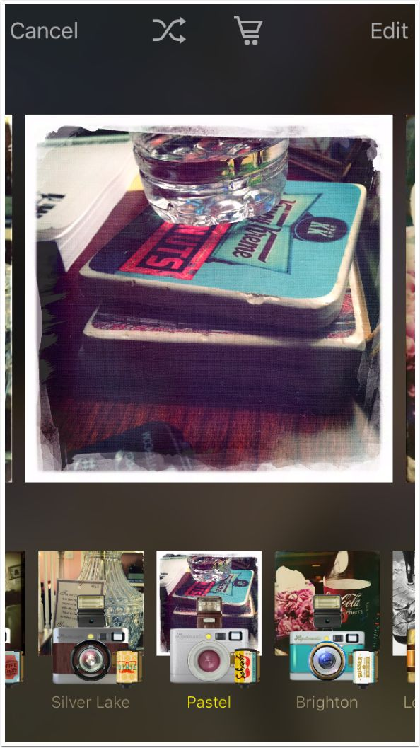 Mobile Photography Tutorial – Hipstamatic 300 – Revisit your Pictures with an Editor