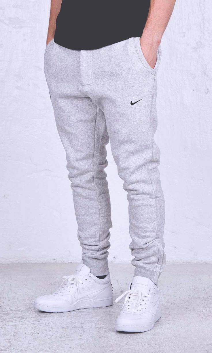 Nike × FCRB Jogger Pants in heather grey