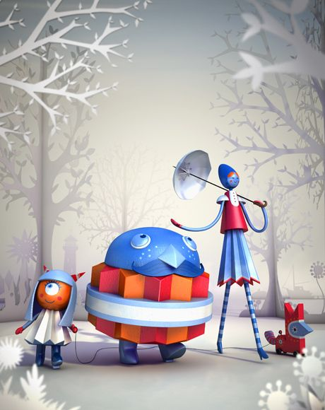 caracter desingIndustrial 2013, Illustration Romanov, 3D Artists, 3D Character, Fingers Industriess, Industrial Illustration, Promotion Artworks, Fingers Industrial, Character Design